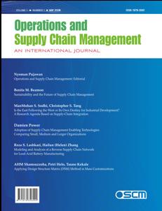OSCM Journal